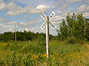 Railroad crossing in northwest Wisconsin