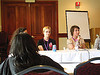 Politics discussion at BlogHer