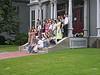 Group photo at Harvard Law