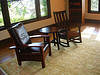 Craftsman chairs and table