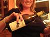 Ponzi serving Ponzi wine