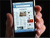 Electronic news that looks like paper news