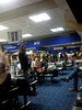 The flourescent drearyness of Terminal A at DFW