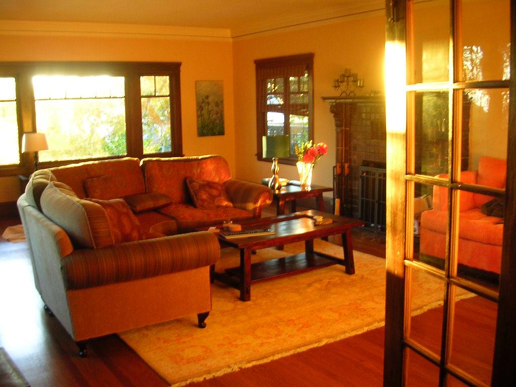 Photo Sunset Living Room