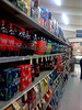 Soft drinks aisle, Safeway