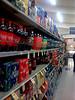 Soft drinks aisle, Safeway