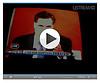 Mitt Romney on Ustream looking ominous