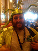 Raines Cohen wearing funky MacWorld head gear