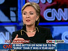 Clinton on CNN debate