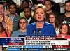 Clinton addresses her supporters
