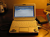 Asus netbook with working EVDO and external disk