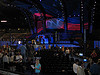 The DNC stage