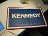 Souvenir to take home (A Kennedy poster from DNC 08)