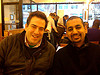 David Jacobs & Anil Dash of SixApart at Ridgeway Diner on 6th Ave betw 20th and 21st