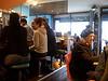 Berkeley cafe on a rainy day