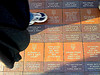 Fan tweets engraved in sidewalk at NY's Citi Field