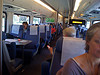 On the train headed back to berkeley