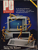 Cover of the first issue of PC Magazine