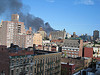 Fire in the East Village