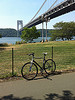 My bike and I made it to the GWB today