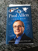A review copy of Paul Allen's new book arrived today.