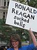 Ronald Reagan sucked balls