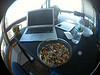 Desktop with trail mix