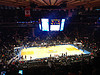 At the knicks game