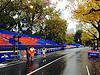 NY Marathon stands